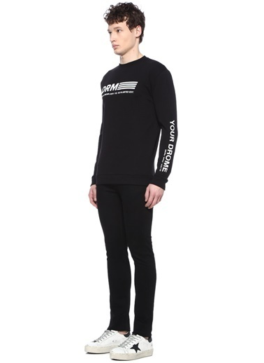 Drome Sweatshirt Siyah
